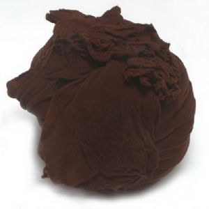 Single colour Specially dyed nylon, Nylon, brown, 1  piece, 1.5m x 15cm, (sww0278)